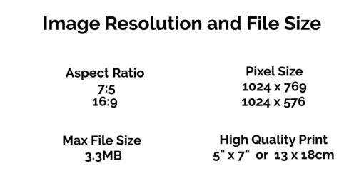 Image Resolution & File Size